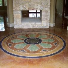 Mediterranean Entry by L3 Concrete Designs, LLC