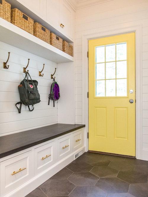 Yellow Front Door Ideas | Houzz