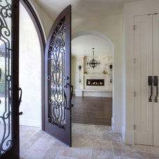 Mediterranean Entry by Mosaic Architects SF