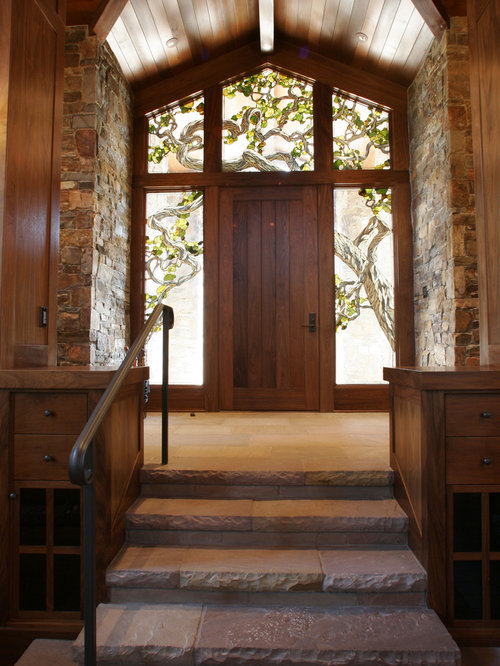 Fine Stained Glass Front Door Houzz Door Handles Collection Dhjemzonderlifede