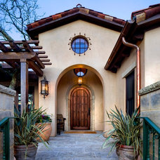 Mediterranean Entry by Robert Baumann, Architect