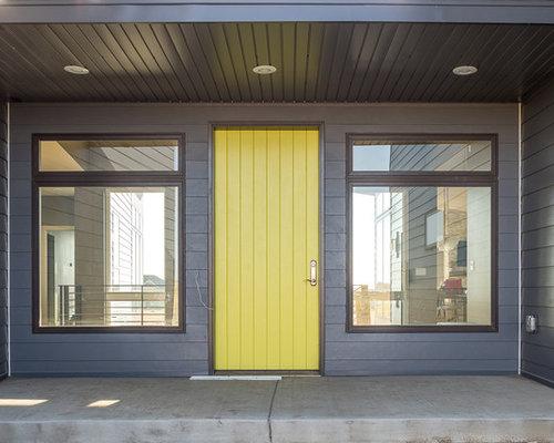 Foyer Tile Yellow : Entryway design ideas renovations photos with ceramic