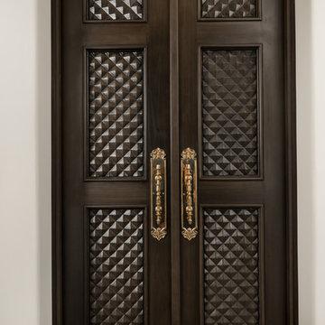 Wood Door Detail