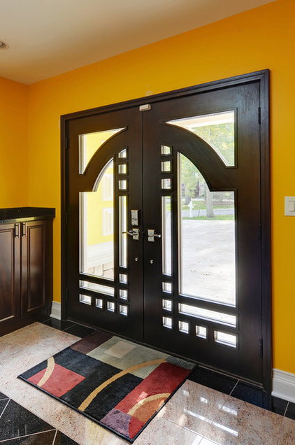 Contemporary Entry by Doors For Builders Inc
