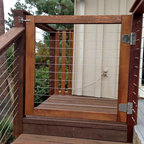 Wood Framed Cable Railing Systems - www.sandiegocablerailings.com