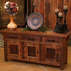 eclectic entry by Woodland Creek Furniture