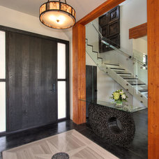 Contemporary Entry by Rock House Style
