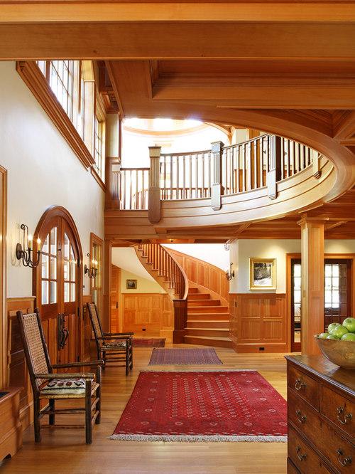 Open Foyer Quiz : Colonial foyer houzz
