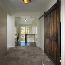 Contemporary Entry by Moore Architects, PC
