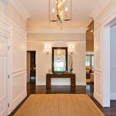 Traditional Entry by Allison Knizek Design for Prescott Properties