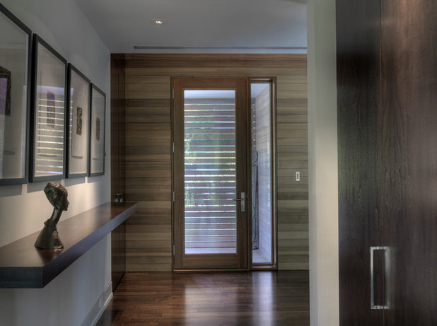 Contemporary Entry by Ziger/Snead Architects