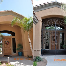 Mediterranean Entry by The French Designs