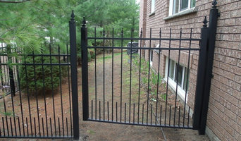 Wrought Iron Ornamental Double Gate & Fencing