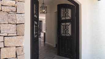 Wrought Iron Steel Front Doors