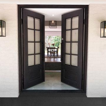 Wrought Iron Steel Front Doors
