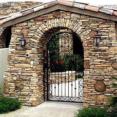 Mediterranean Entry by Colletti Design Iron Doors