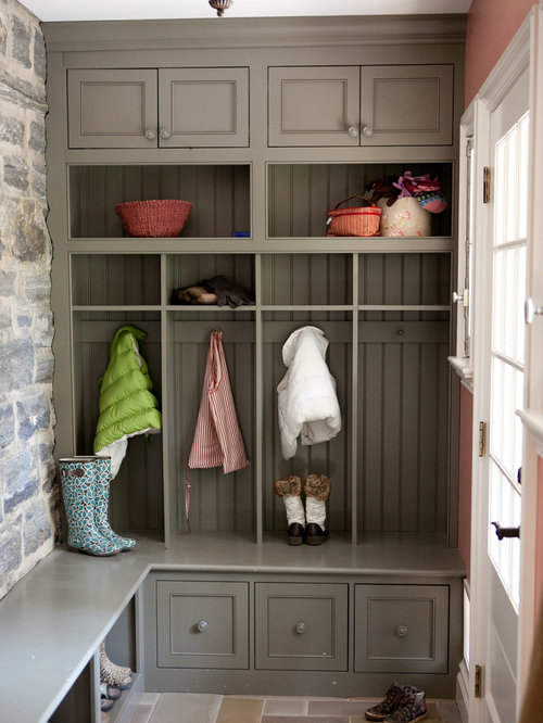 Inspiration For A Timeless Mudroom Remodel In Philadelphia