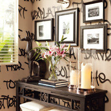Entry by Madison West Interiors