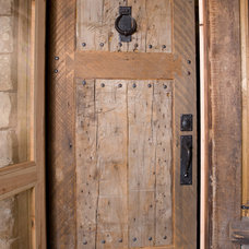 Eclectic Entry by Montana Reclaimed Lumber Co.