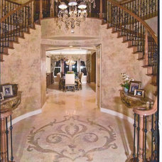 Traditional Entry by Designed Interiors