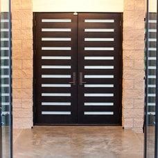 Modern Entry by West Standard Design Build