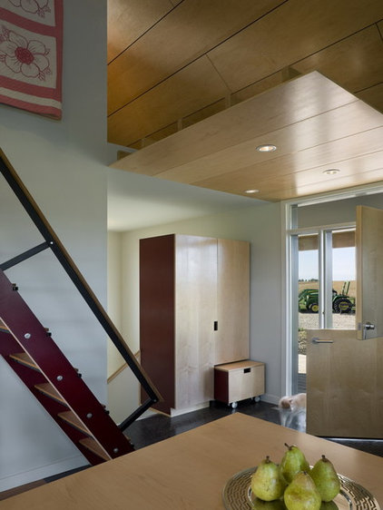 modern entry by DeForest Architects