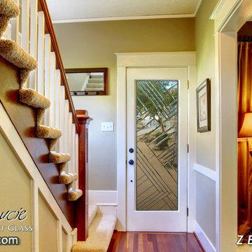 Z Bevels Glass Front Doors - Exterior Glass Doors - Glass Entry Doors