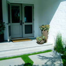 Contemporary Entry by The Design Build Company