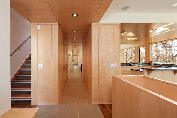 Modern Entry by SALA Architects