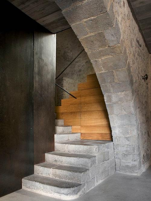 Fotos de escaleras | Diseños de escaleras rústicas