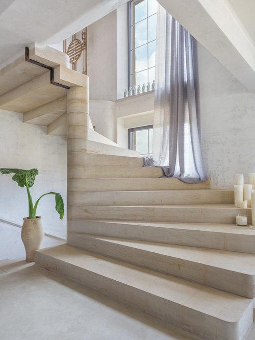 Farmhouse Other Metro Staircase Design Ideas Remodels