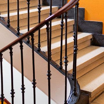 Casa de María se encuentra en un edificio del 1900 del antiguo Madrid.