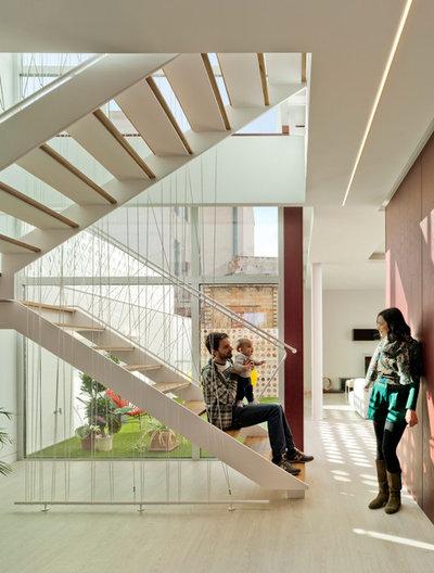 Contemporáneo Escalera by La Errería * architecture office