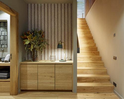 Fotos de escaleras dise os de escaleras de estilo de casa de campo - Escaleras para viviendas ...