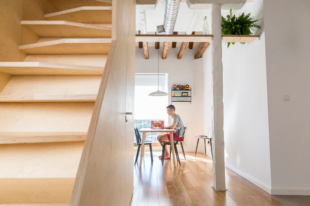 Moderno Escalera by IMAGINEAN. Arquitectura & Interiorismo