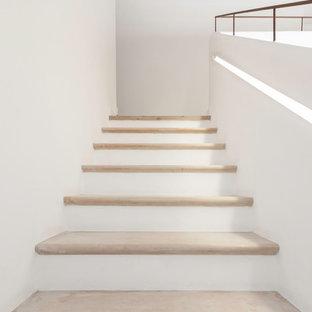Bild på en medelhavsstil trappa