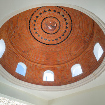 MeridaArquitectos Stair with Dome in Colonial Home