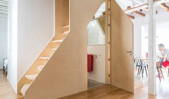 Núcleo Escalera-baño-armario