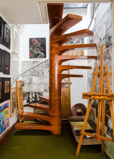 Contemporáneo Escalera by EstudioHUMO