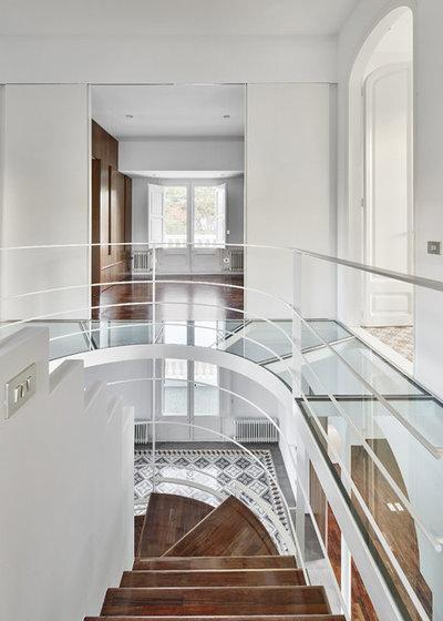 Современная классика Лестница by Arquitectura-G