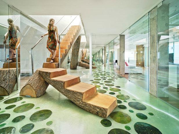 Современный Лестница by xpiral arquitectura