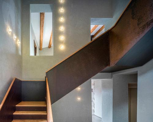 Treppenhaus im landhausstil spanien   treppenhausgestaltung und ...
