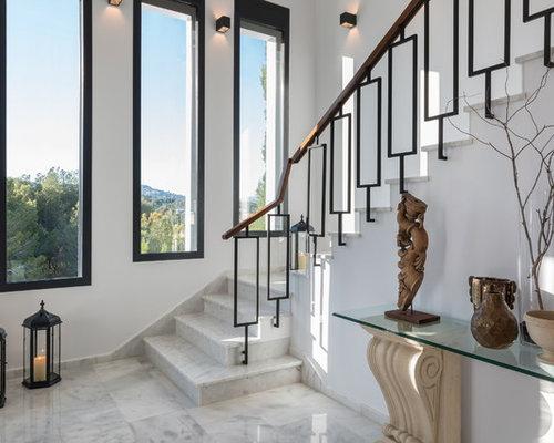Fotos de escaleras dise os de escaleras con for Escaleras de casas de lujo
