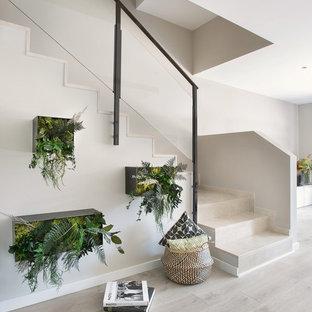 Idéer för att renovera en funkis l-trappa
