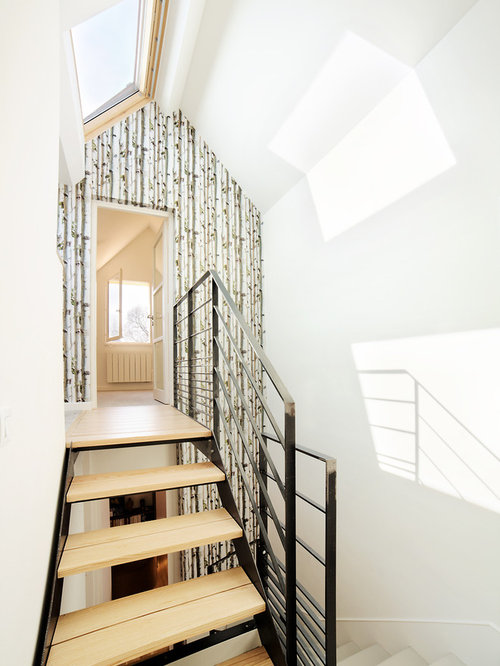 Scandinavian Floating Staircase Design Ideas Renovations