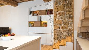 Aménagement intérieur d'un appartement canut