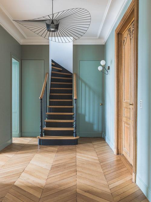 Photos et idées déco d\'escaliers classiques