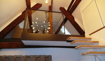 Appartement Centre historique de Senlis - Création d'un escalier sur mesure....