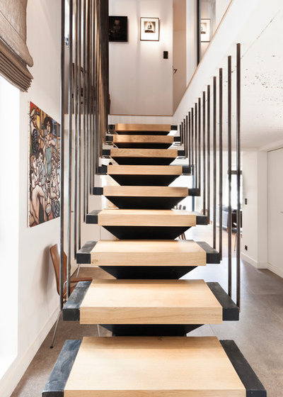 Scandinave Escalier by Damien Carreres