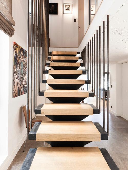 photos et id es d co d 39 escaliers scandinaves. Black Bedroom Furniture Sets. Home Design Ideas